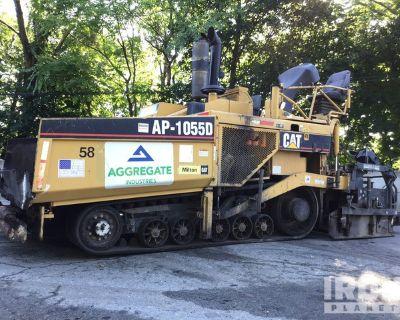 2007 Cat AP1055D Track Asphalt Paver