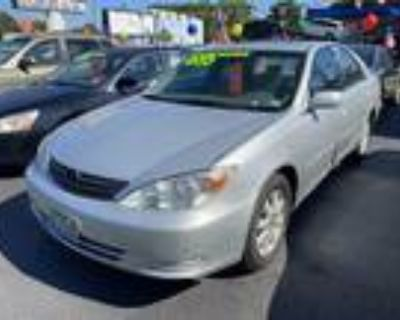 2002 Toyota Camry 4dr