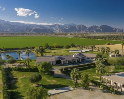 Buena Vista by Avantstay 40 Acre Ranch-style Estate With Expansive Lake, 3500 sf Barn, & Mtn Views - Thermal