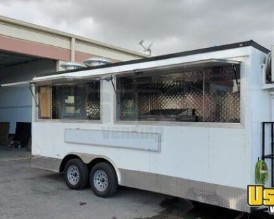 BRAND NEW and Fully Loaded 8.5' x 18' Kitchen Concession Trailer