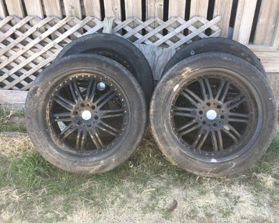 """22"""" Rims/Tires"""