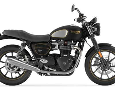 2022 Triumph Street Twin Gold Line Cruiser Indianapolis, IN