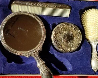 Antique Empire Collection Vanity Set.