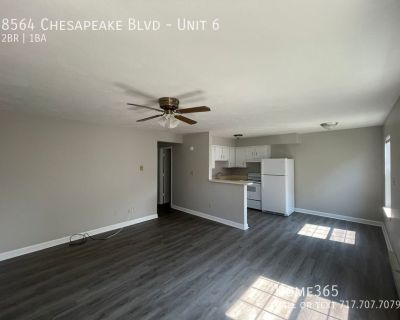 Spacious Downstairs End Unit,  2 bedroom, 1 bath apartment