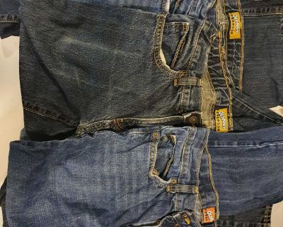 4 pairs of boys size 16 Old Navy jeans