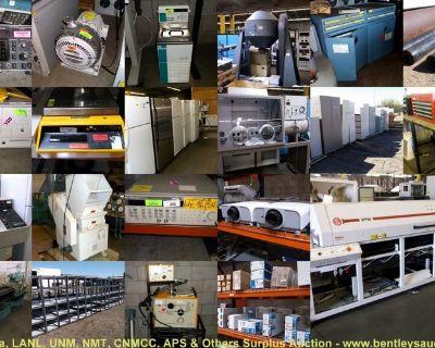 Surplus Auction-Sandia/Los Alamos National Labs, UNM, NM Tech & Others