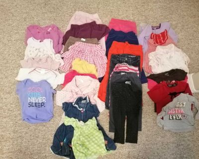 33 pcs 18-24 months baby girl clothing