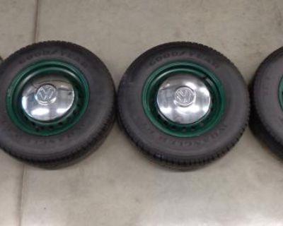 OEM Bay Window Bus wheels and tires
