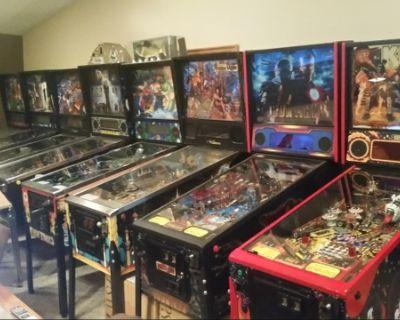 Wanted pinball machines.