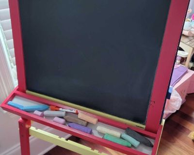 Chalk and dry erase board