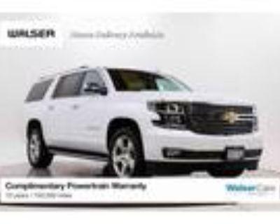 2019 Chevrolet Suburban White, 50K miles
