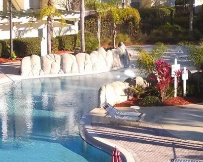 9-104 Ground Floor Condo With Patio, Minutes From Disney With a Heated Pool, gym - Four Corners