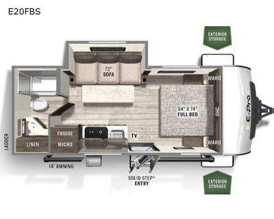 2022 Forest River Rv Flagstaff E-Pro E20FBS