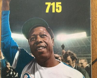Hank Aaron sports illustrated 715 cover