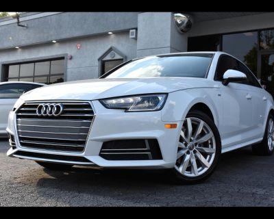 2018 Audi A4 Premium 4D Sedan ultra 2.0T
