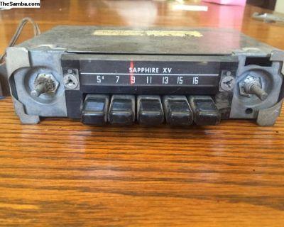Sapphire XV original radio, VW