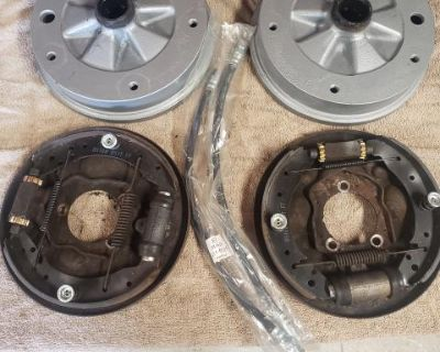 ball joint wide five front brakes