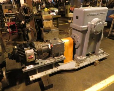 Horsburgh Scott Ratio / 80 with Input Motor | Complete Unit 12.4 HP Model WB 2700