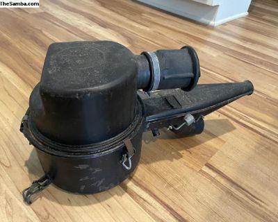 Early Bay OG carburetor oil-bath air filter