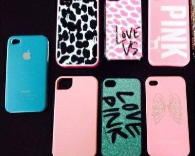 iPhone CASES (4,4s) Like NEW