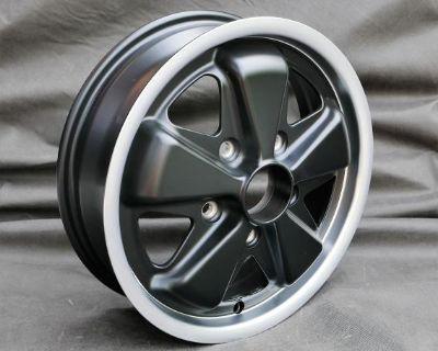 15x4.5 Black Porsche Fuchs Replicas - Quality!