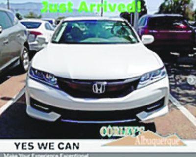 HONDA 2016 ACCORD EX-L Coupe, CVT, Front Wheel Drive, 24k miles, Stock #V8112A $24,443...