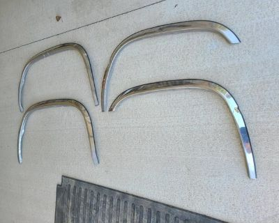 stainless steel chrome fender flairs
