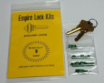 Schlage Lock Rekey Kit