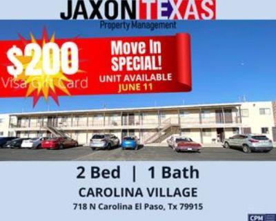 718 N Carolina Dr #09, El Paso, TX 79915 2 Bedroom Apartment
