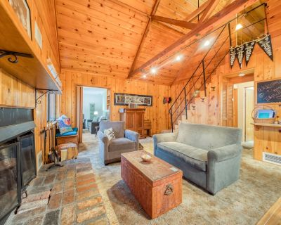Peaceful dog-friendly cabin with deck, forest & mountain views, & private grill! - Idyllwild