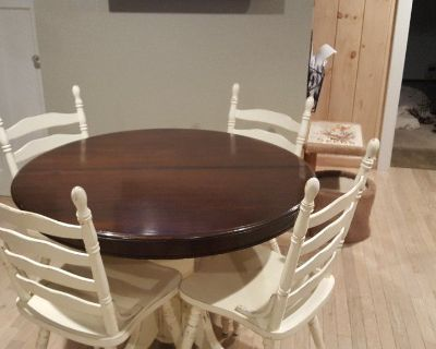 Unusual Round Dining Table