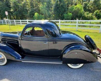 1936 Ford 3 Window 2-door All-Steel Deluxe Flathead V8 Original Three-Window Engine Swap