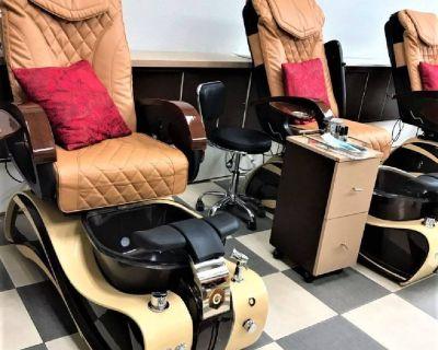 (9) Cadi – Pedicure Spa Massage Chair – Chocolate Coffee (Each)