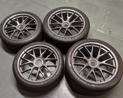 BBS Magnesium Weissach Package Wheelset WP 991 GT3RS GT2RS