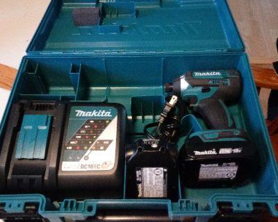 Makita 18-Volt Compact Impact Driver