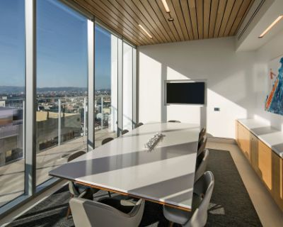 Executive Conference Room with Breathtaking Skyline Views, Los Angeless, CA