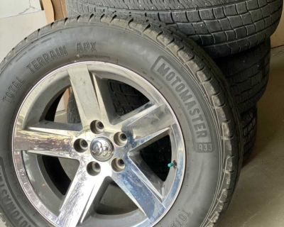 275/60R20 (4) wheels and rims
