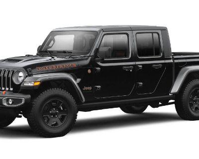 New 2021 JEEP Gladiator Mojave 4x4 Crew Cab