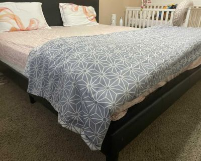 King bed and Mattress in excellent condition