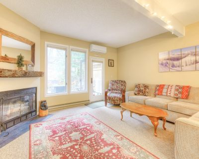 Dog-Friendly, Ski-In/Out Townhome w/Free WiFi, Wood Fireplace, Gas Grill, & Deck - McHenry