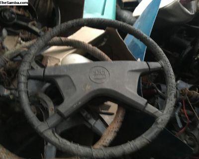 Bug Ghia and Type 3 4 spoke steering wheel
