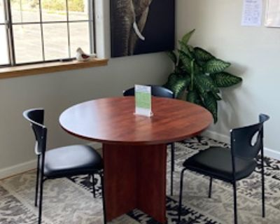 Private Meeting Room for 3 at Confluence Small Business Collective
