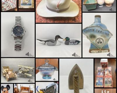 Auction for the Estate of Mr. C.M. Ayers