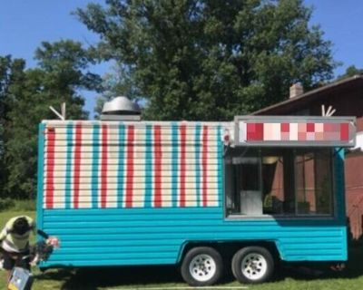 Used 2013 Mobile Kitchen / Ready to Cook Food Concession Trailer