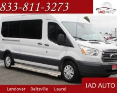 "2015 Ford Transit Passenger Wagon T-350 XLT with Sliding RH Door 148"" Medium Roof"