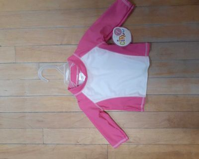 NWT 12 month bathing suit top UPF 50+
