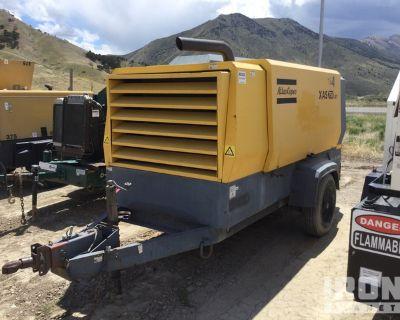 2014 Atlas Copco XAS750JDIT4HBUR 750 cfm Mobile Air Compressor