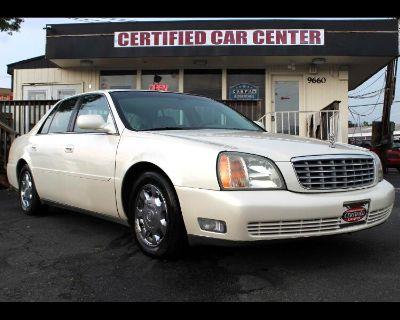 2002 Cadillac DeVille 4dr Sdn