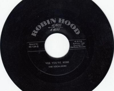 VOCALEERS-Yes You're Mine & SCARLETS-Teardrops Fell*Mint-45 !