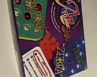 A to Z Jr. game